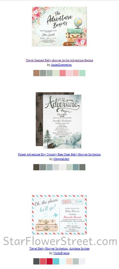 adventure-invitations-colorschemes