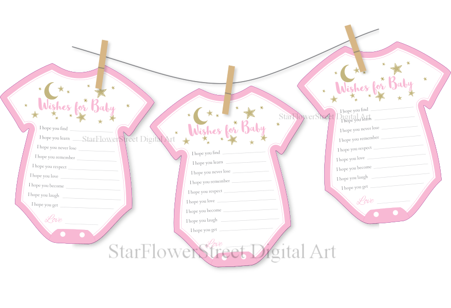 clothesline-baby-shower-twinkle-star-moon-pink-gold