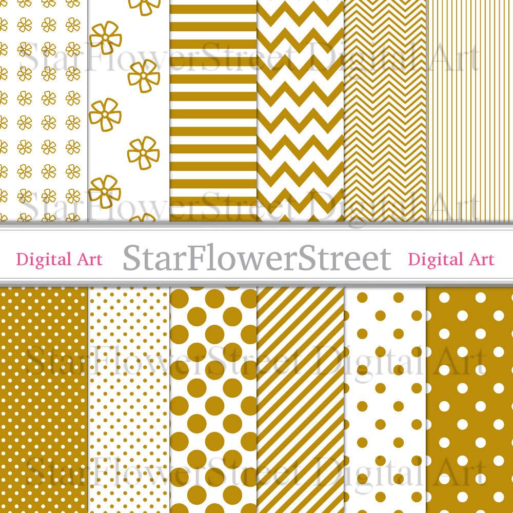 gold-digital-paper-scrapbook-yellow