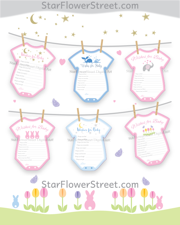 Printable Baby Shower Decorations